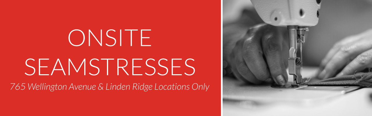 Perth's Onsite Seamstress, Linden Ridge and 765 Wellington Locations Only